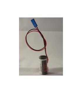 Pile lithium SIEMENS ER14335 3.6V 1.65Ah + connecteur pour CN SIEMENS