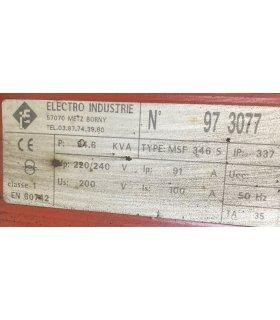 Transfo 220/240V 200V 35KVA
