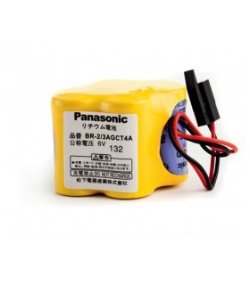 Batterie PANASONIC BR-2/3AGCT4A 6V A98L-0031-0025 for FANUC CNC