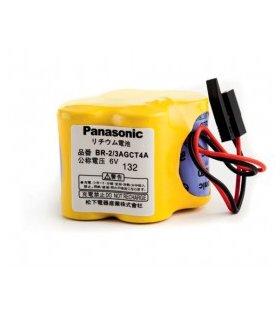 PIle PANASONIC BR-2/3AGCT4A 6V A98L-0031-0025 pour CN FANUC