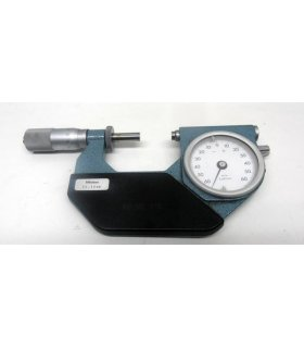 MITUTOYO 25-50 mm micrometer with dial