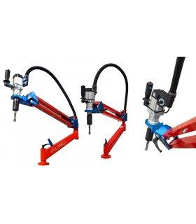 Bras double de taraudage pneumatique M3 à M12 horizontal & vertical