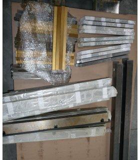 1 set of rack for thread 10 M125 width 20 mm