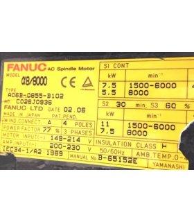 FANUC ALPHA 8/8000 A06B-0855-B102